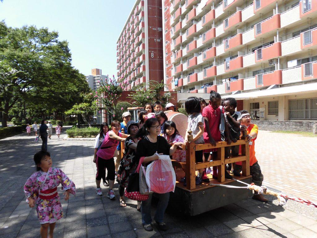 夏祭り(子供神輿)