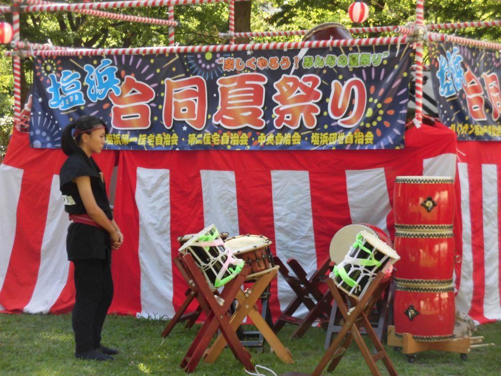 夏祭り(垂幕)